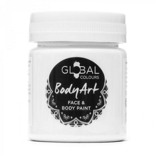 White - 45ml Face & Body Paint Liquid