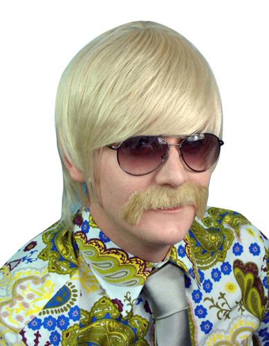 Wig - 70'S Mod Guy - Blonde