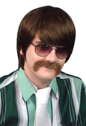 Wig - 70'S Mod Guy - Brown