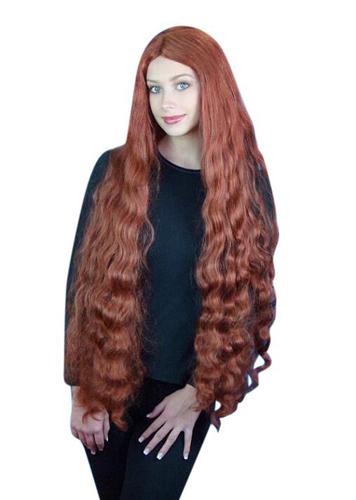 Wig - Ariel 'Mermaid' Long Auburn