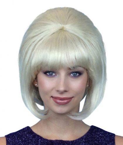 Wig - Blonde 60S Beehive Deluxe