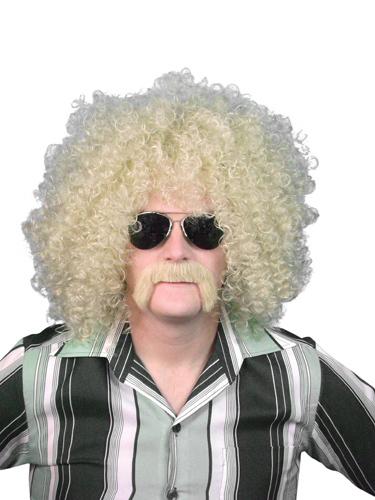 Wig- Blonde Loose Curl Afro 13''