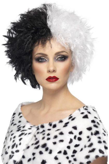Wig - Cruella Black/White