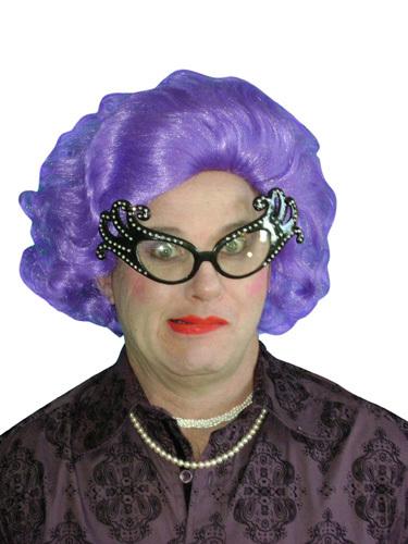 Wig - Edna Purple Deluxe
