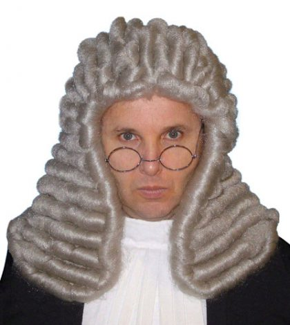 Wig - Judge (Deluxe) Grey