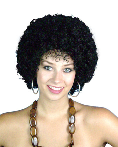 Wig - Mini Disco Afro 6'' Black