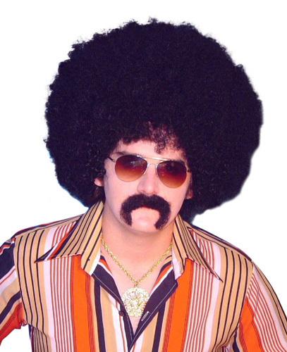Wig - 'Mr Cool' Jumbo Frizzy Afro 13''