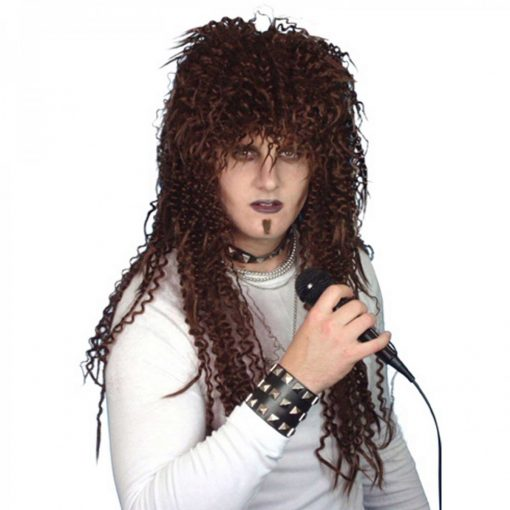 Wig- Rock God - Dark Brown