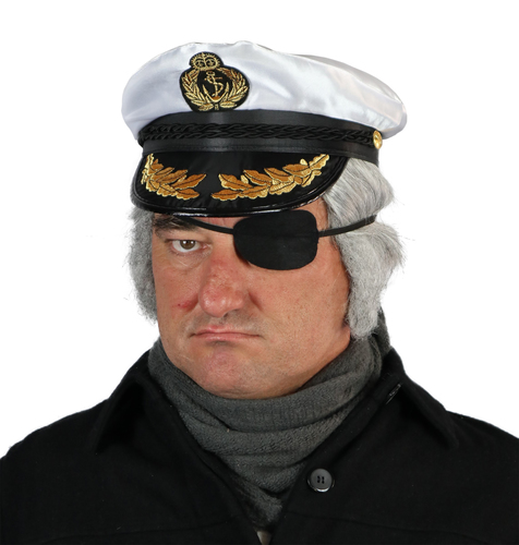 Wig - Skipper with Eyepatch