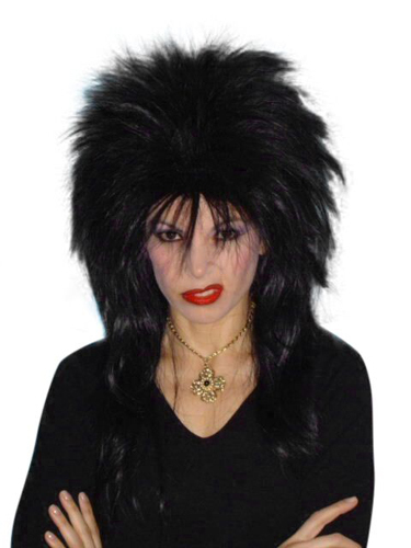 Wig - Spiky Vamp (Black)