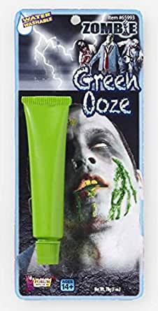 green ooze makeup