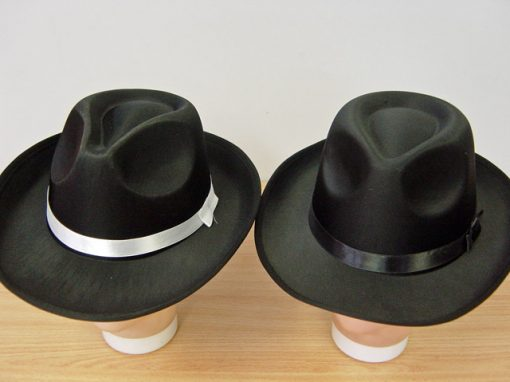 Black Fedora Black Band