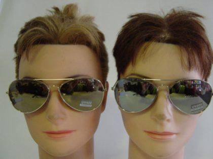 Cop, Aviator Glasses (mirror)