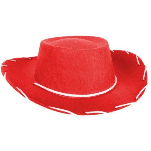 Cowboy Hat Child Red