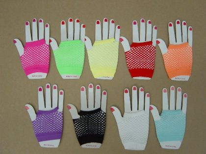 FISHNET GLOVE FINGERLESS SHORT