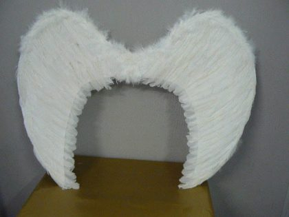 Feather Angel Wings White