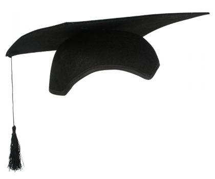 Graduation Cap Black