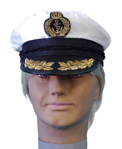 Hat- Satin Ships Captain Hat (A)