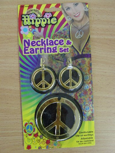 Hippie Necklace And Earring Set