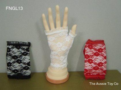 Lace Glove Short Fingerless 13 cm