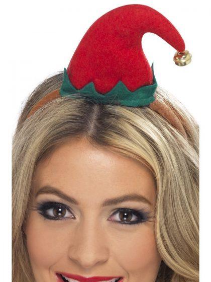 Mini Elf Hat, Red