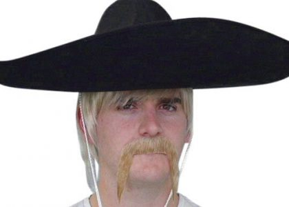 Moustache - Blonde 'Mexican'