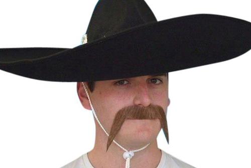 Moustache - Brown 'Mexican'