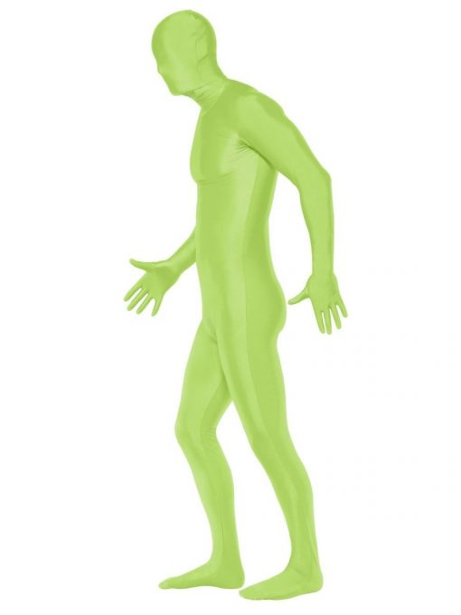 Second Skin Suit, Green