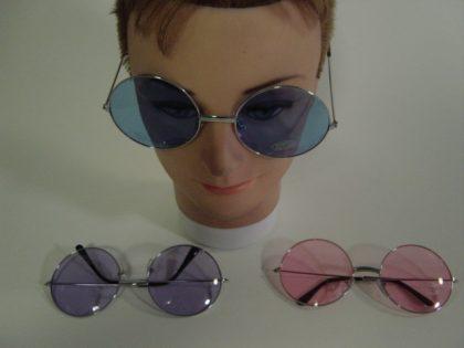 Silver Rim Circular Glasses