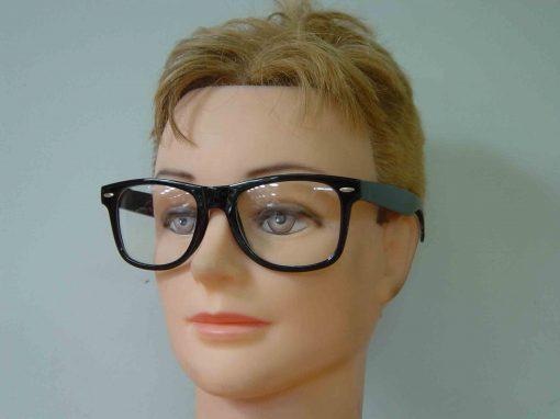 Square Austin Nerd Glasses (with lens)