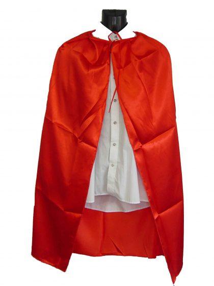 Super Hero Red Cape 1.10m for kid Medium Length
