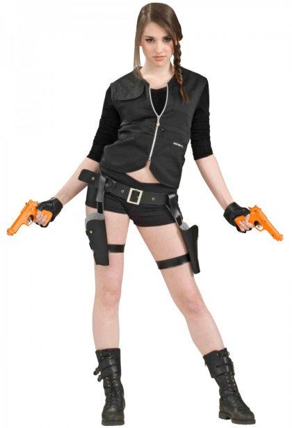 Treasure Huntress Holster & Guns Set