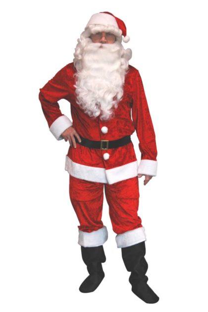 Velvet Santa - Adult - Large