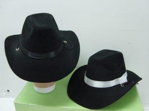 Western Cowboy Hat Black