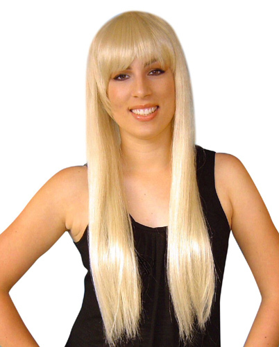 Wig- Abba-Paris Long Blonde With Fringe