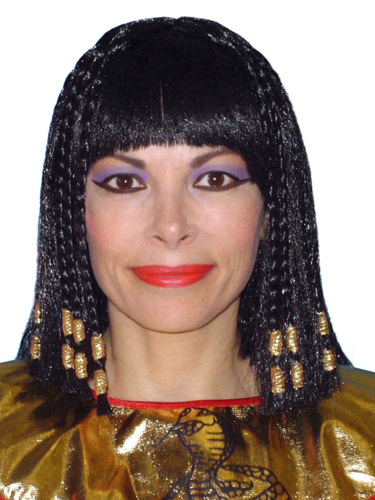 Wig- Deluxe Cleopatra- Braids With Gold Trim