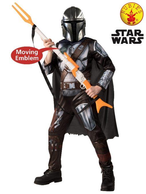 Mandalorian Deluxe child costume