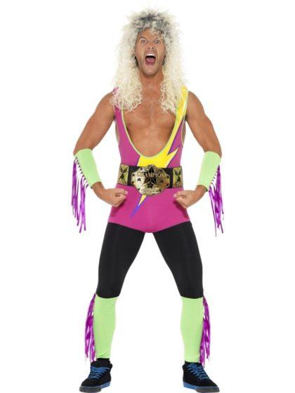 Retro Wrestling costume