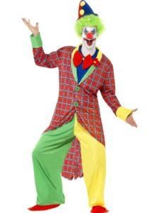 deluxe circus clown costume