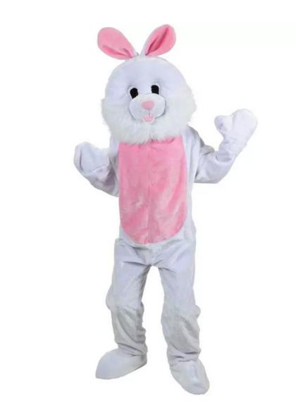 Easter Bunny costume mascot