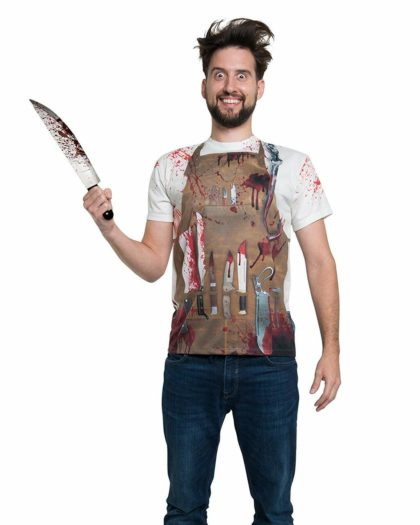 Butcher faux real tshirt