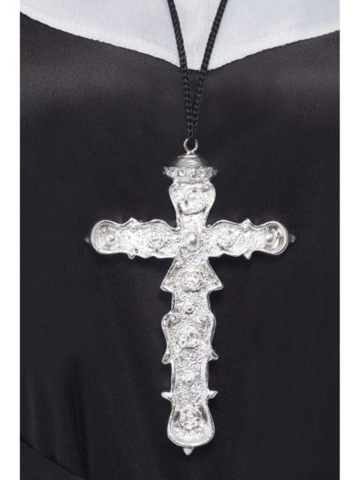 ornate cross pendant