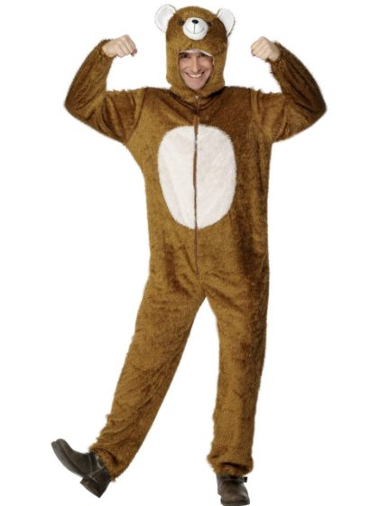 Bear costume onesie
