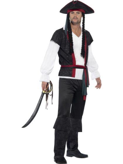 Aye aye pirate captain costume