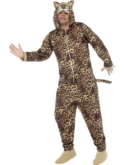 Leopard costume onesie