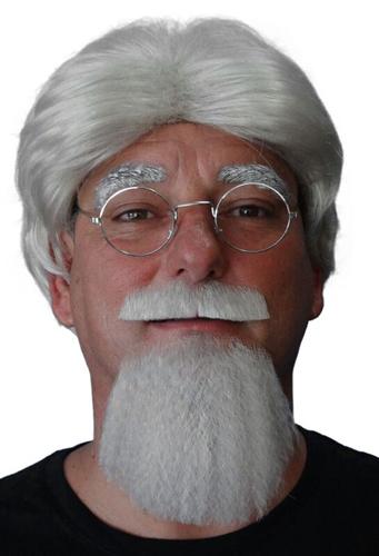 Colonel Sanders moustache