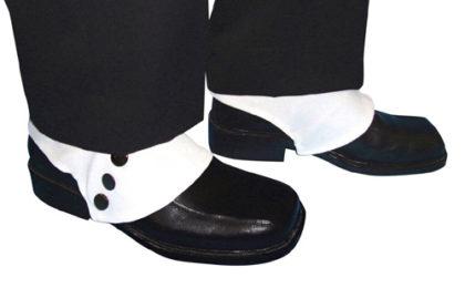 white shoe spats
