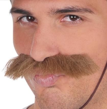 Brown Moustache