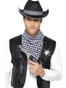 Western vest and hat