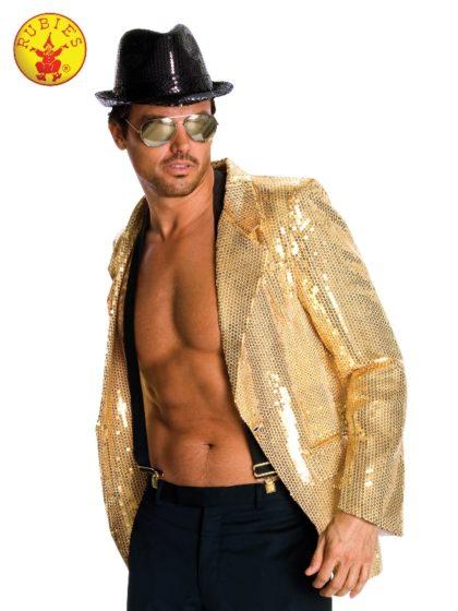 Gold Sequin Jacket mens